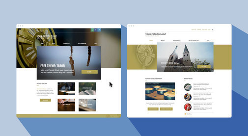 The stunning imagery and design legacy behind two new themes