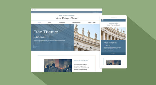 New free theme Lucca is chock full of contemporary style