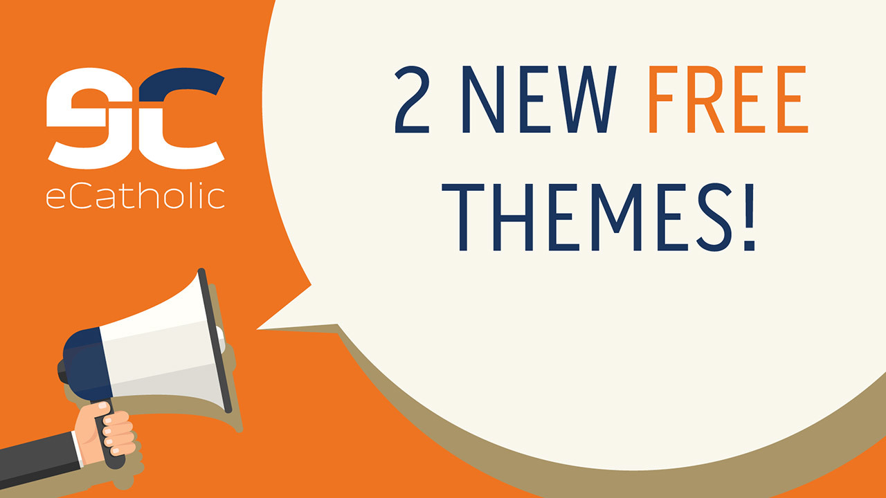 2 free eCatholic website themes