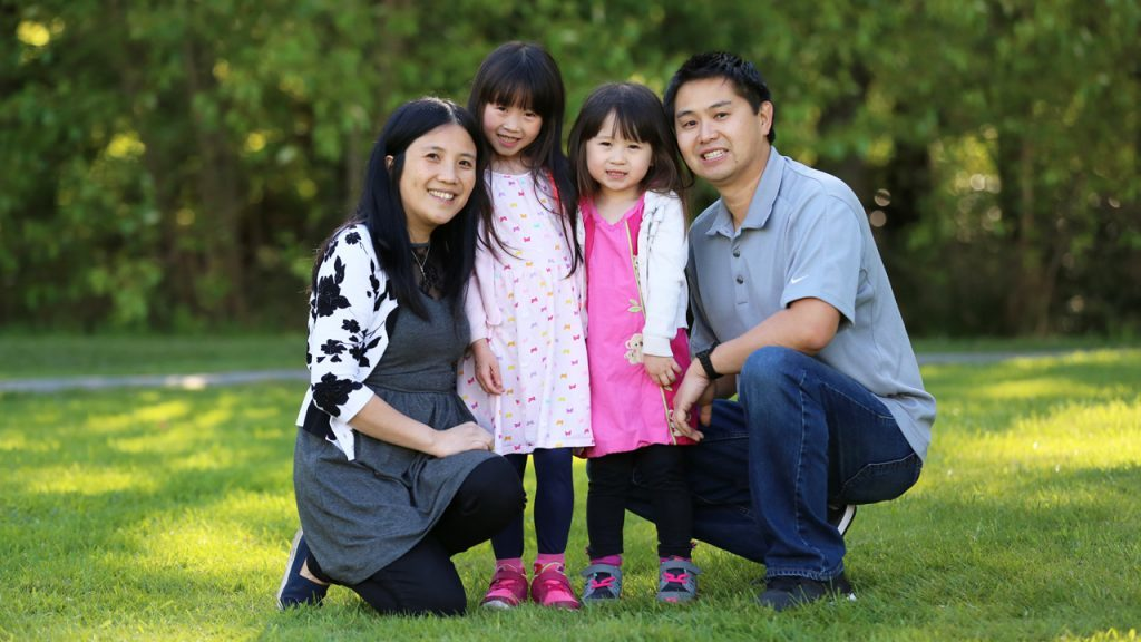 amy leung family