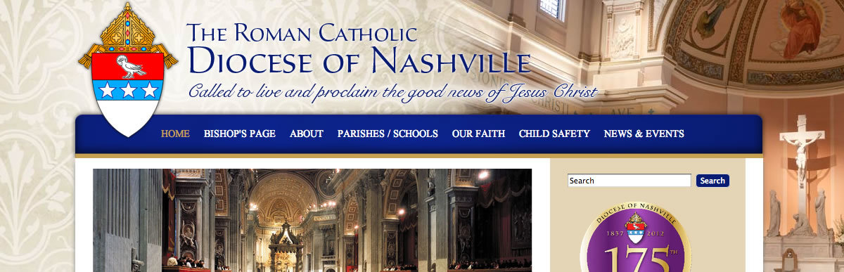 Diocese of Nashville launches new website