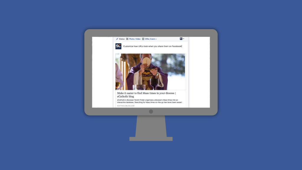How to customize shared Facebook posts