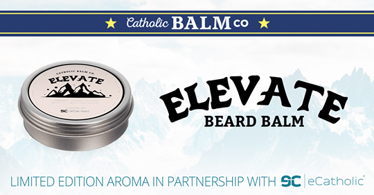 Elevate Catholic Beard Balm
