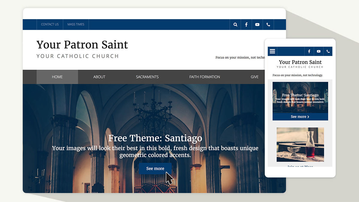New free theme: Check out Santiago!