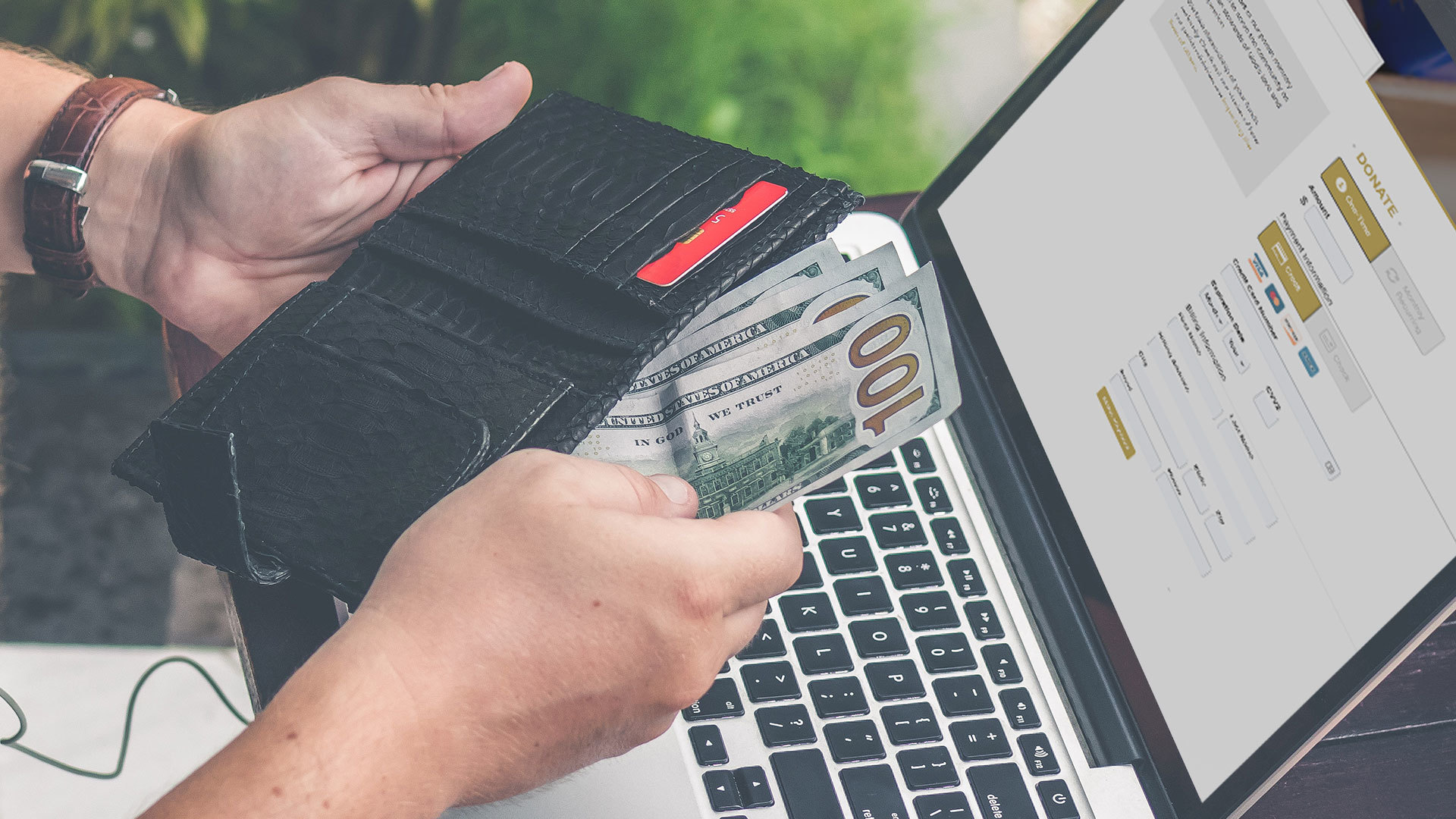 How to accept online donations & payments on your website