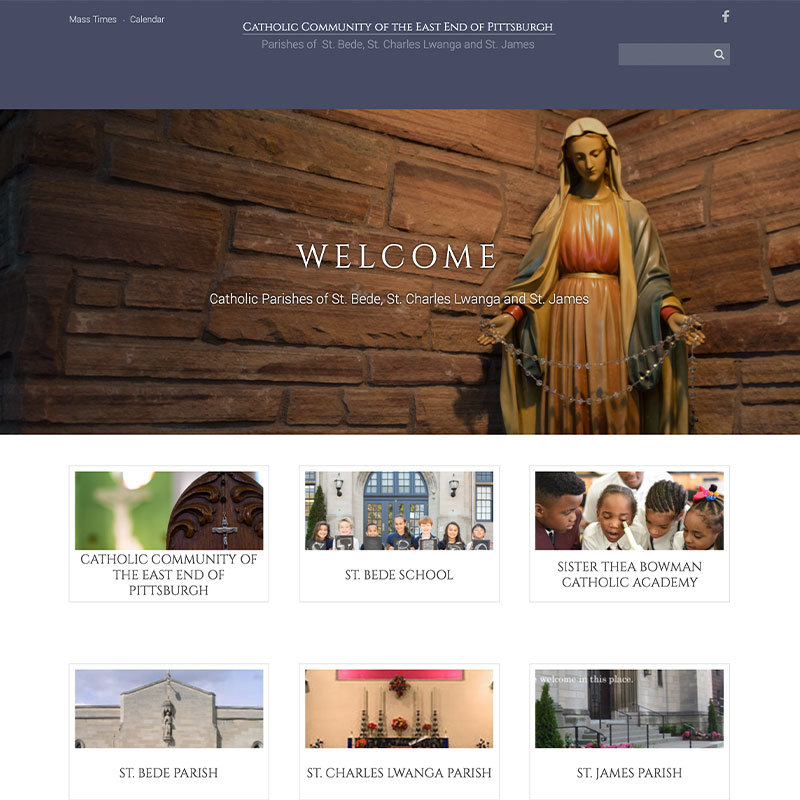 Diocese of Pittsburgh parish website