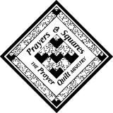 Prayers and Squares Quilt Ministry Logo