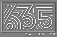 The 635 Dallas TX gray logo