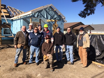 Seton Habitat Build Update #4: January 7, 2017