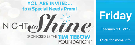 Night to Shine Special Needs Prom