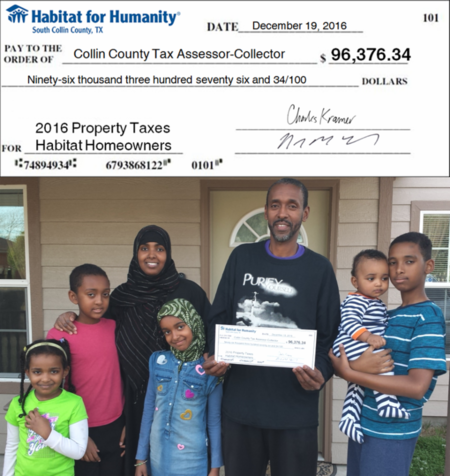 HfH Property Taxes Paid