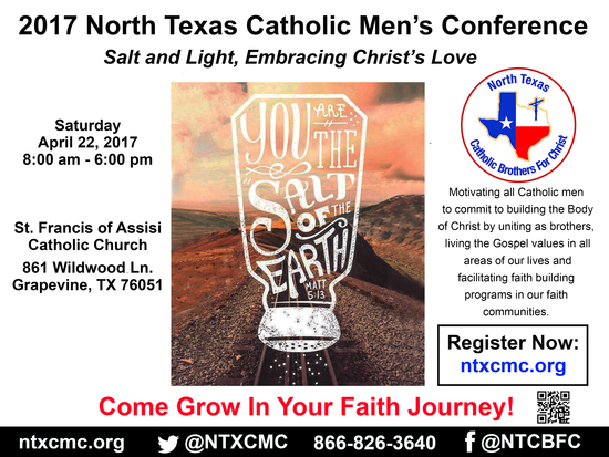 2017 North Texas Catholic Men's Conference