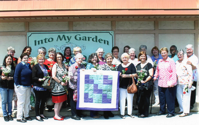 Prayers and Squares Quilt Ministry 10th Anniversary