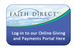 Sign up, today for Faith Direct Parish eGiving