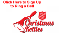 Sign Up to Ring a Bell for the Salvation Army Christmas Kettles