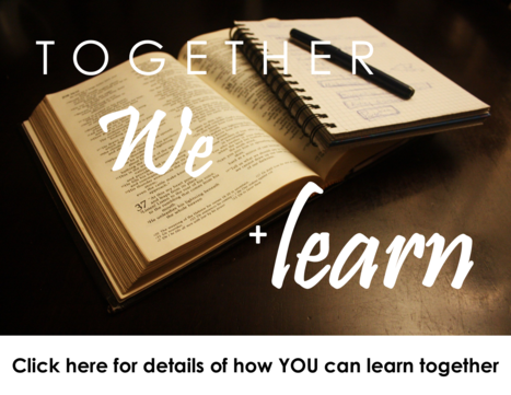 Click here for details on how YOU can learn together