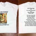 Our Lady of Guadalupe 2015 Pilgrimage Commemorative T-Shirt