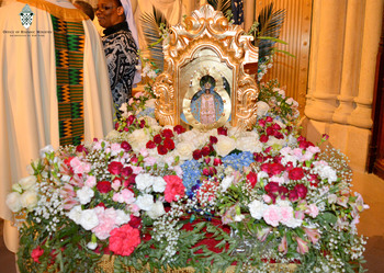 Mass in honor of Our Lady of Suyapa