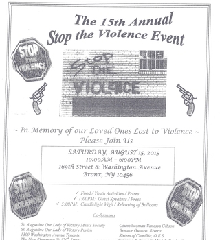 15th Annual Stop the Violence Event