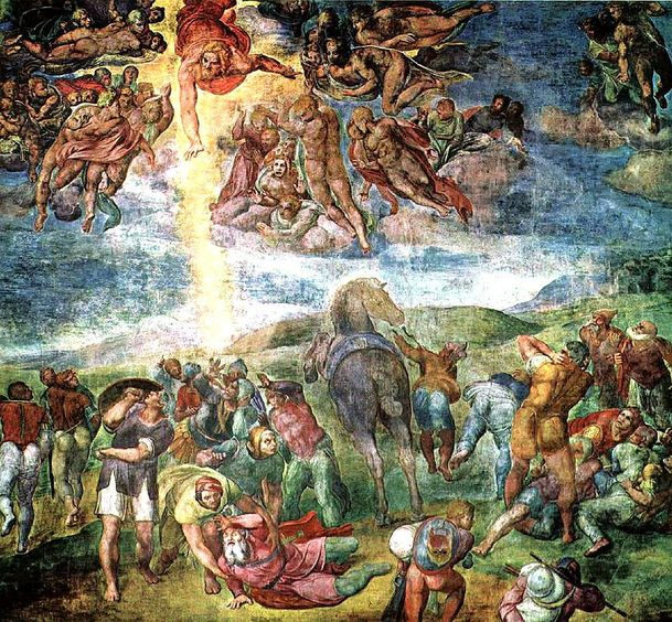 Conversion of Saint Paul (Michelangelo)