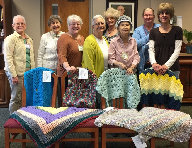 Members of the Prayer Shawl Ministry