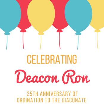Coffee Hour: Deacon Ron's 25th Anniversary