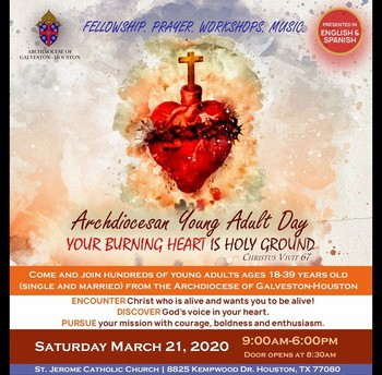ARCHDIOCESAN YOUNG ADULT DAY 2020