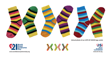 Down Syndrome Awareness Day - wear colorful socks