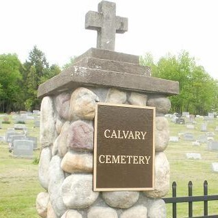 Cemetery Cleanup in Preparation for Easter