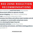 Announcement: Red Zone Reduction Recommendations (click here)