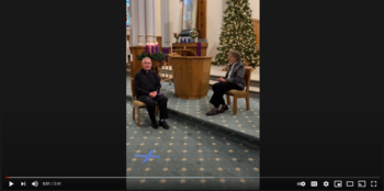 Video: Christmas Address from Sister Clara and Father Richard