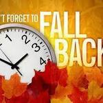 Daylight Savings Time ends this weekend!