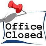 Parish Offices Closed for Memorial Day, May 31