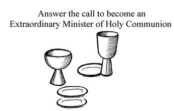 Training to become an Extraordinary Minister of Holy Communion