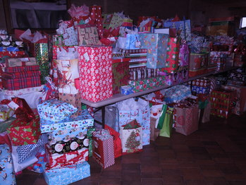 Sorting of the Giving Tree Gifts