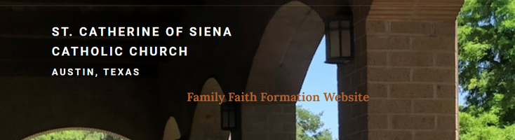 St. Catherine's Faith Formation website