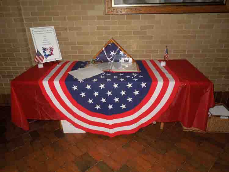 Memorial Day Memory Table