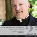 Fr Carroll will celebrate 25 years of Priesthood Oct 21