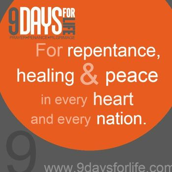 9 Days for Life Prayer Movement