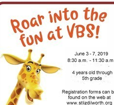 Roar! Vacation Bible School at St. Joseph's