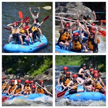 Life Teen White Water Rafting Trip