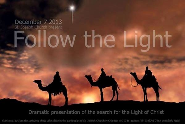 Follow the Light Procession and Tree lighting