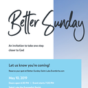 Dynamic Parish Better Sunday: MAY 10, 2019