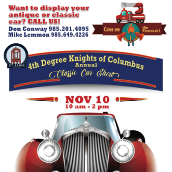 4th Degree KC Annual Classic Car Show