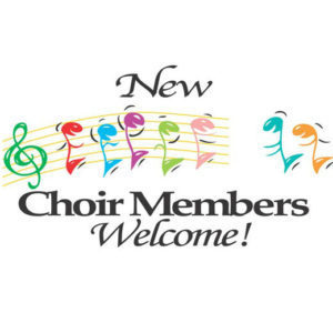 Choir Recruitment: August 17 & 18