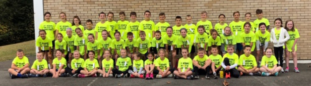 St. Aedan Fall 2019 Cross Country Team photo