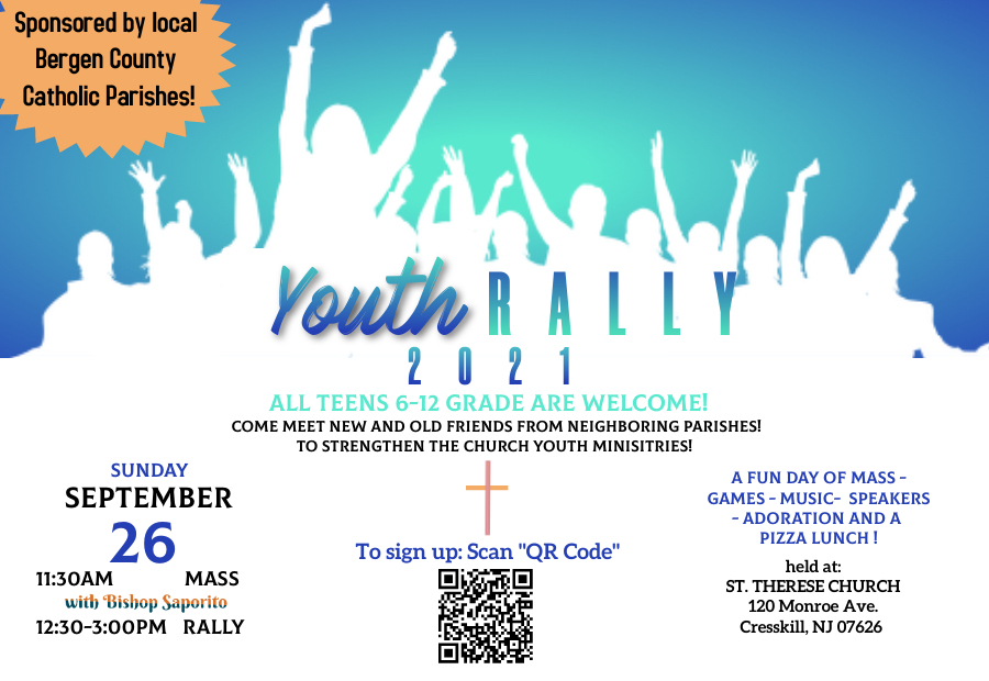 YOUTH RALLY! 9/26/21