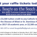 Boogie on the Beach Raffle Tickets
