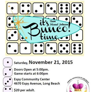 Its Bunco! time Flyer