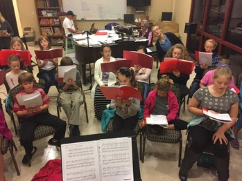 CHILDREN's CHOIR  <div>  Begins Again August 16th! </div>